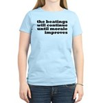 The Beatings Will Continue, Morale Women's Light T