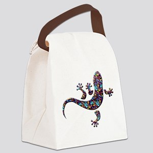 Cool Gecko 1 Canvas Lunch Bag