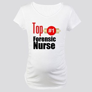Top Forensic Nurse Maternity T-Shirt