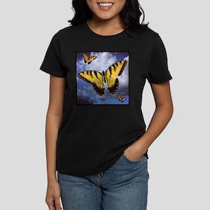 """""""Swallowtail Butterflies!"""" Women's Dark"""