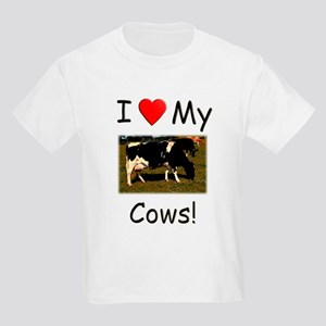 Love My Cows Kids Light T-Shirt