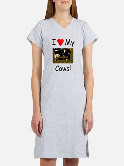 Love My Cows Women's Nightshirt