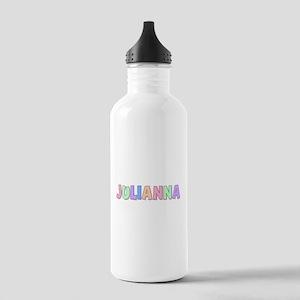 Julianna Rainbow Pastel Stainless Water Bottle 1.0