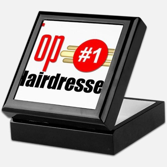 Top Hairdresser Keepsake Box