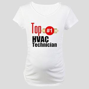 Top HVAC Technician Maternity T-Shirt