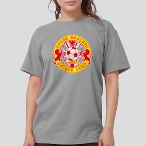 soccer2 for dark shirt Womens Comfort Colors Shirt