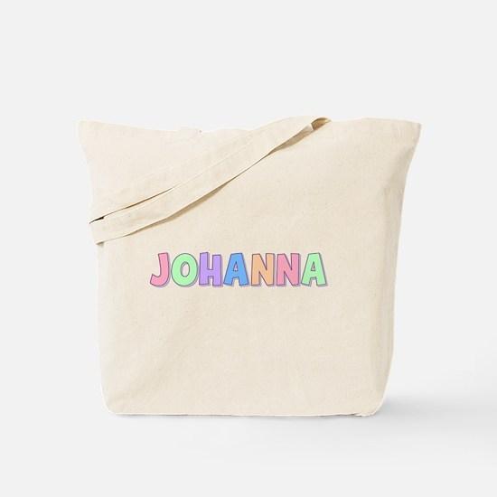 Johanna Rainbow Pastel Tote Bag