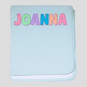 Joanna Rainbow Pastel baby blanket