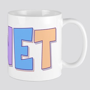Janet Rainbow Pastel Mug