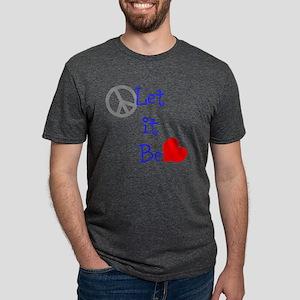Let it be Mens Tri-blend T-Shirt