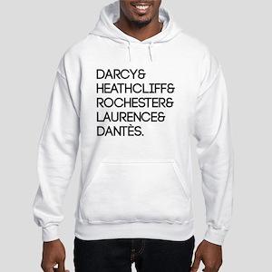 Literary Men Hooded Sweatshirt