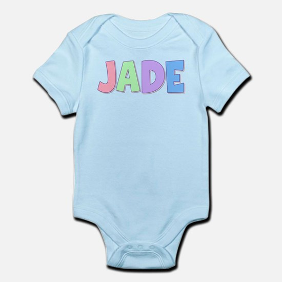 Jade Rainbow Pastel Infant Bodysuit
