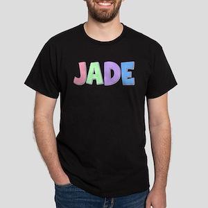 Jade Rainbow Pastel Dark T-Shirt