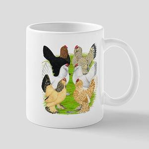 Six DUccle Hens Mug