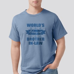 World's Okayest Brother- Mens Comfort Colors Shirt