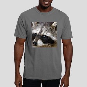 Raccoon Tile Coaster Mens Comfort Colors Shirt