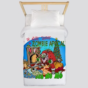 Twas the Night Before Zombie Twin Duvet