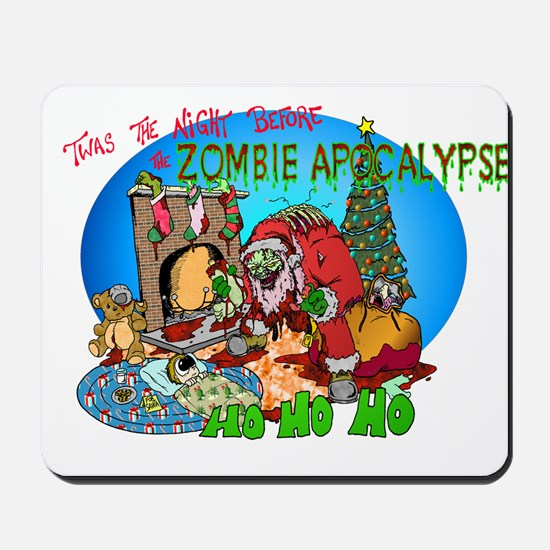 Twas the Night Before Zombie Mousepad