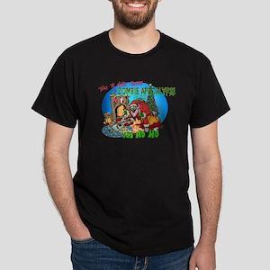 Twas the Night Before Zombie Dark T-Shirt