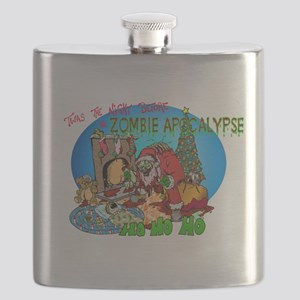 Twas the Night Before Zombie Flask