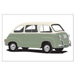 Green Multipla Large Poster