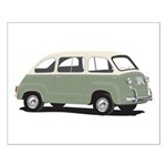 Green Multipla Small Poster
