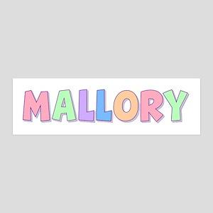 Mallory Rainbow Pastel 36x11 Wall Peel