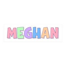 Meghan Rainbow Pastel 36x11 Wall Peel