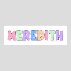 Meredith Rainbow Pastel 36x11 Wall Peel