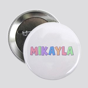 Mikayla Rainbow Pastel Button