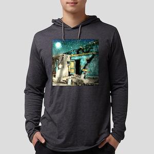 MOON DANCE 10X10 Mens Hooded Shirt