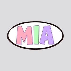 Mia Rainbow Pastel Patch