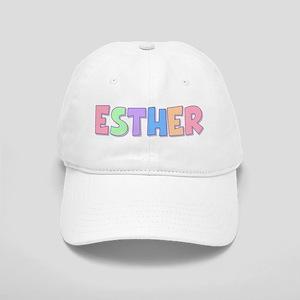 Esther Rainbow Pastel Cap