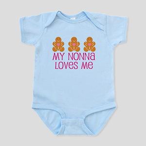 Gingerbread Nonna Love Infant Bodysuit