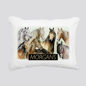 Morgans of Many Colors Pillow