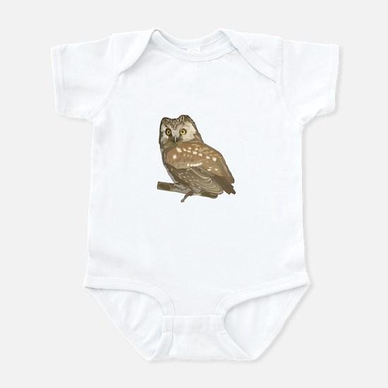 Brown Owl Infant Bodysuit