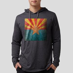 VintageArizona Mens Hooded Shirt