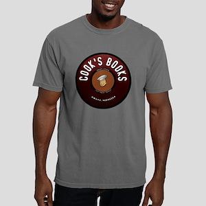 cooks books logo Mens Comfort Colors Shirt
