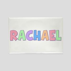 Rachael Rainbow Pastel Rectangle Magnet