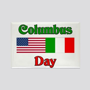 Columbus Day Rectangle Magnet