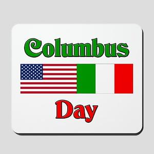 Columbus Day Mousepad