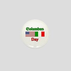 Columbus Day Mini Button