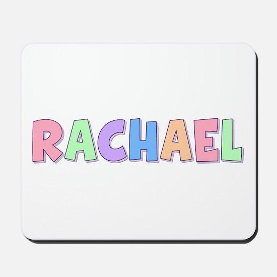 Rachael Rainbow Pastel Mousepad