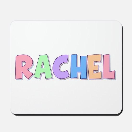 Rachel Rainbow Pastel Mousepad