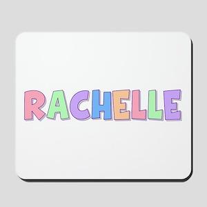 Rachelle Rainbow Pastel Mousepad