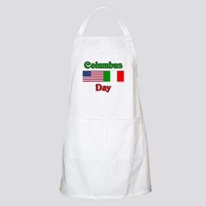 Columbus Day BBQ Apron