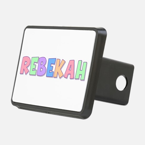 Rebekah Rainbow Pastel Hitch Cover