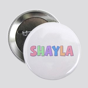 Shayla Rainbow Pastel Button