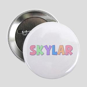 Skylar Rainbow Pastel Button