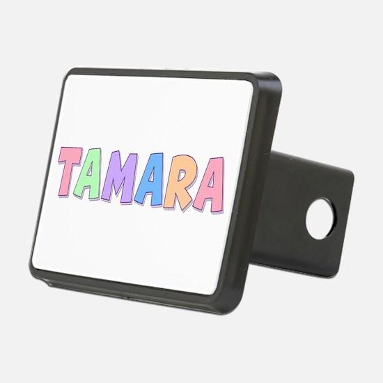 Tamara Rainbow Pastel Hitch Cover